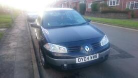 Car Renault Megane with panoramic roof leather seats