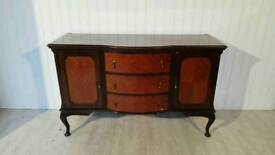 Vintage Queen Anne Style Sideboard