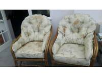 Two seater Setter and Two chairs,