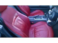BMW Z4 SPORT CONVERTIBLE 2.5 NEW MOT F/S/H RED LEATHER