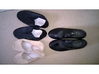 Ballet, Tap and Jazz Dance Shoes