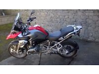 2013 (63) BMW R1200 GS TE ABS ONLY 3350 MILES BMW SAT NAV NEW CONDITION