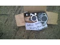 Box of Iveco Truck parts Steering , marker light ect