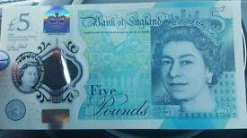 New AK45 £5 note
