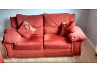 2 Seater Sofa Bed + 1 Chair