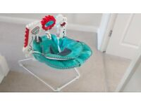 Fisher Price 2-in-1 sensory baby bouncer