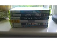 xbox 360 s 4gb model, kinect, 12 various games, 6 in case, and 6 out of case. plus a 120gb hdd