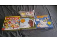 Large Bundle of Children's Board games