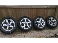 ford mondeo mk4 alloy wheels 5x108 studs