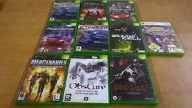Xbox 360 Games Joblot x9