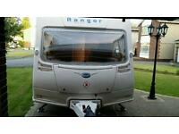 2008 Bailey Ranger 510/4 with New Vango AirBeam Awning