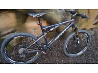 Scott Spark 60 Full Suspension Mountain Bike after full mod, real beast in fantastic condition