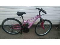 Ladies/teenage mountain bike