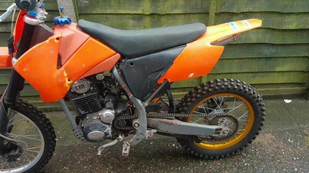 Loncin Orange Black Dirtbike In Stoke On Trent