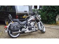 Harley Davidson Heritage Softail Classic FLSTC 1340cc 2900 miles!!! Newly serviced and MOT'd