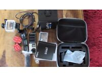 go pro hero 4 black with all accessories and carry case