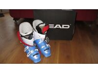 SKI BOOTS HEAD RAPTOR CADDY SIZE 260MM 26.0 -26.5 UK 7 HARDLY WORN BOUGHT LAST YEAR