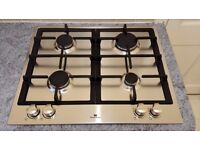 WHITE-WESTINGHOUSE GAS HOB STAINLESS STEEL