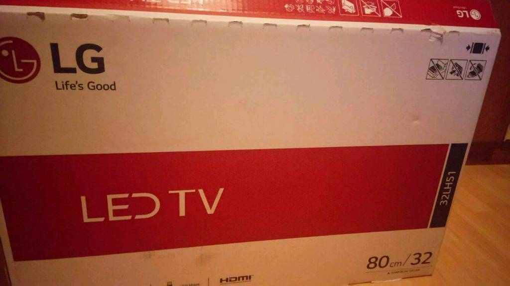 LG TV 32 Inc