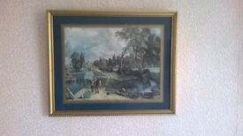 Flatford Mill by Constable print