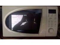 Sainbury's essentials microwave oven