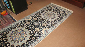 Genuine Persian Carpet - Nain Runner - Hallway or Landing