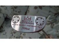 SCOTTY CAMERON STUDIO SELECT FASTBACK No 1 PUTTER - 34 INCHES - SUPERB CONDITION