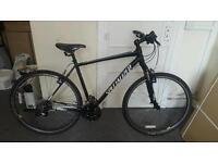 mens specialized crosstrail hybrid bike