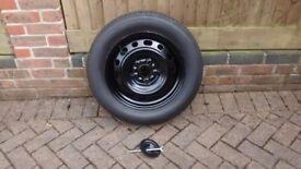 Mazda 6 Full size spare wheel & tyre