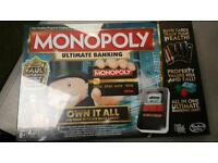 Monopoly ultimate banking (brand new)