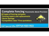 Complete Fencing and gates