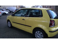 06 POLO 1.2 in stunning yellow 1 previous keeper
