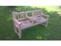 Wooden Garden Seat.