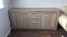 Very good condition sideboard oak colour