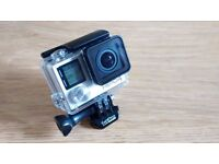 GoPro Hero 4 Silver Used Like-New Condition Bought in June-16 Unwanted Gift
