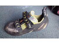 Scarpa Vapour V Climbing Shoes UK 9 1/2 (EU 44)