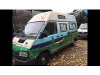 Renault Traffic 2.0 Diesel Camper Van / Motor Home / Day Van - MOT - Tow Bar
