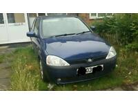Vauxhall Corsa 2003 1.7 Dti BREAKING FOR PARTS