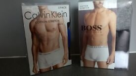 Calvin Klein Boxers, Adult sizes, Boxed with tags