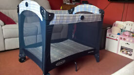 Graco Travel Cot and extra mattress