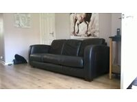 2x3 Seater Leather Settees