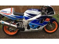 Suzuki Gsxr750 srad 1997 carb mot gsxr 750 px swap mx bike enduro crosser
