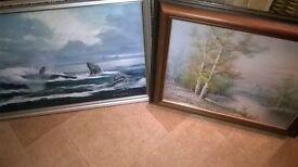 Two Oil Paintings