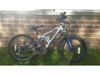 Boys apollo mountain bike 20""