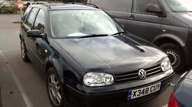 Golf MK4 Estate Diesel Auto - problem with auto gearbox. In good shape otherwise.