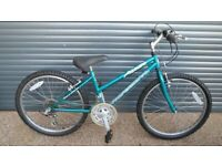 GIRLS PROFESSIONAL BIKE IN XCELLENT LITTLE USED CONDITION. (SUIT APPROX. AGE. 8 / 9+)..