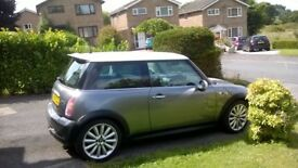 Mini Cooper s chillie pack with upgraded alloys