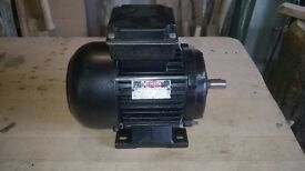 3 phase 0.55kW electric motor