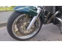 BANDIT 1200 MOTD MARCH 17 GOOD TYRES ETC