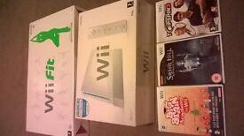 Wii Complete Console and Balance Board
